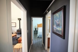 Cedar Cottage Hallway