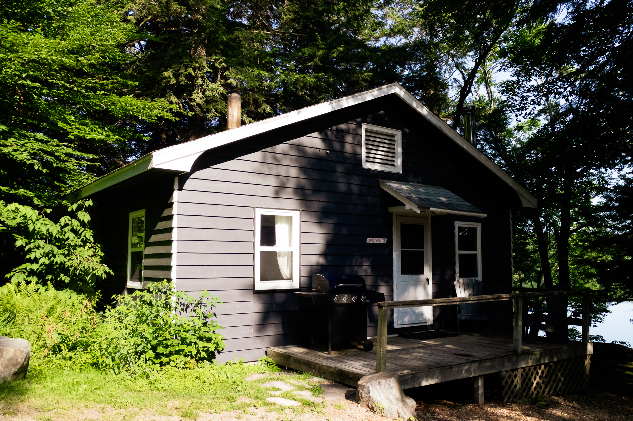 Spruce Cottage Exterior